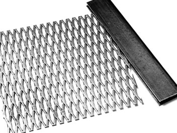 U Channel Seals The Edge Of Expanded Metal